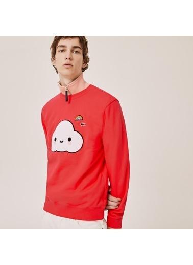 Lacoste Erkek X FriendsWithY Sweatshirt SH0411.4BY Kırmızı